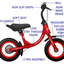 WeeRide Australia Balance Bike Red