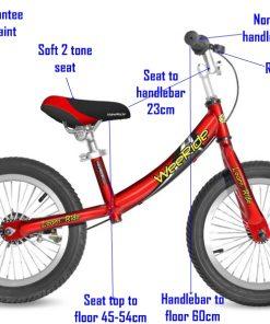 WeeRide Deluxe Balance Bike Red