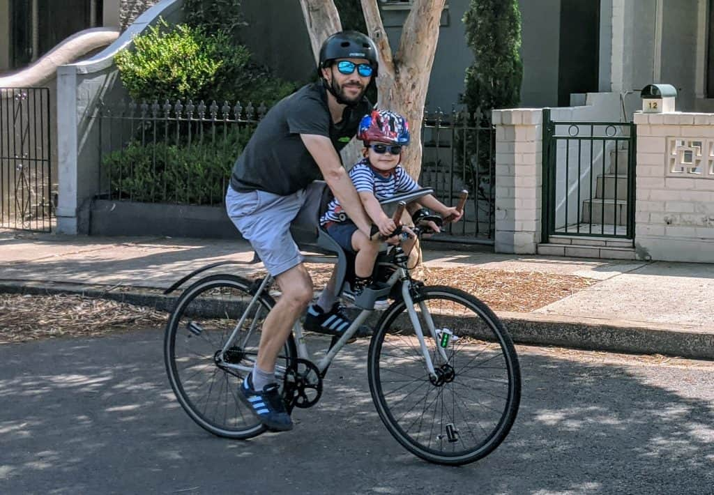 5 Tips For Choosing The Best Kids Bike Seat Weeride Australia