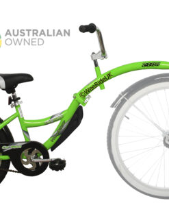 WeeRide Australia Tagalong Co Pilot Green Attached